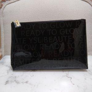 YSL Ready To Glow Black Makeup Bag